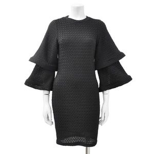 Gracia Layered Bell Sleeve Dress